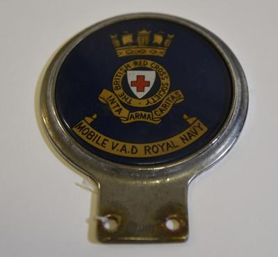 Mobile VAD Royal Navy car badge