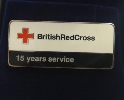 British Red Cross 15 Years Service Badge