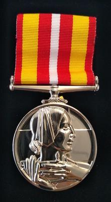 British Red Cross Society Voluntary Medical Services Medal