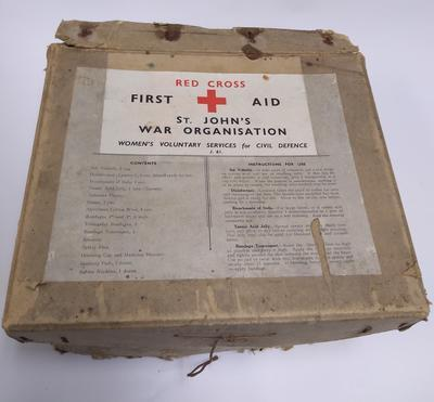 British Red Cross and Order of St John Joint War Organisation First Aid Kit; Medical Equipment/first aid kit; 1565/8