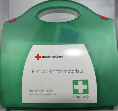 British Red Cross First Aid Kit for Motorists
