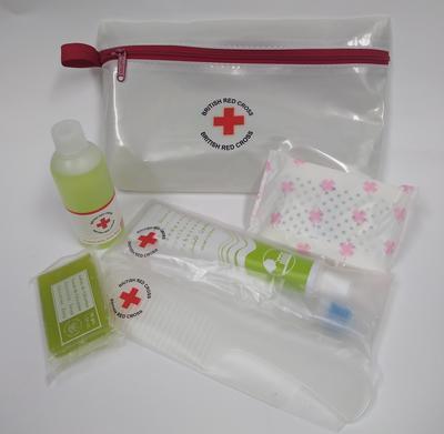 British Red Cross hygiene kit