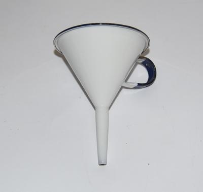 Small enamel funnel