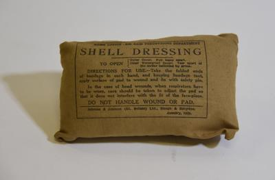 Home Office - Air Raid Precautions Department Shell dressing