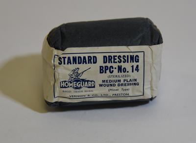 'Homeguard' standard dressing BPC No. 14