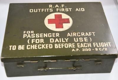 RAF Outfits First Aid Kit for Passenger Aircraft
