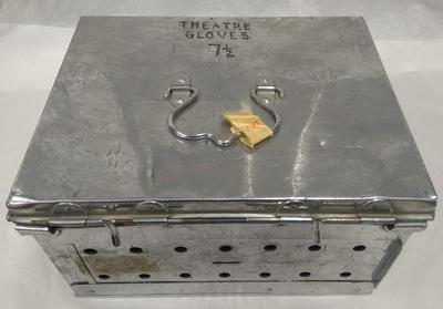 Stainless steel box for Theatre Gloves