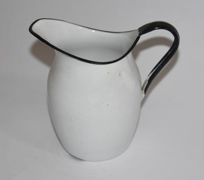 Small enamel jug