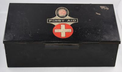 Fassett & Johnson First Aid tin