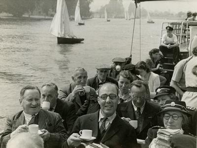 Outing given by City of London Branch to Disabled Servicemen from the Star and Garter Home, Richmond, Surrey