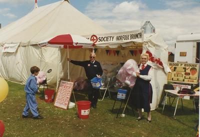 Great Yarmouth Stall at the Royal Norfolk Show