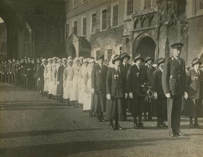 Unidentifed Group Photograph of Members of the Norfolk Branch in Uniform