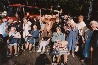 Photograph of an Elderly Group of People