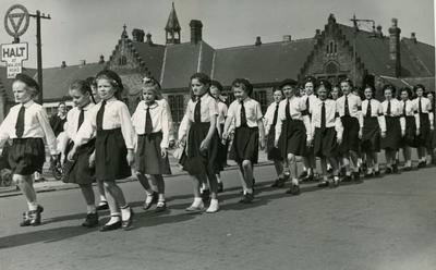 Photograph of the Wallsend Cadets; RCB/2/49/5/5