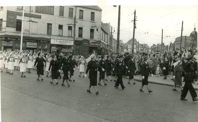 Photographs from a Northumberland Branch Church Parade, 1954; RCB/2/49/5/8