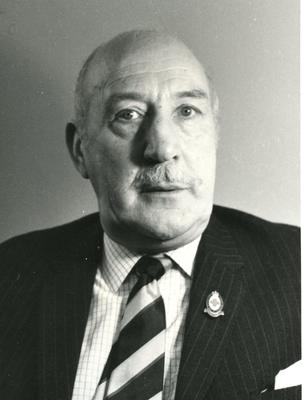 Photograph of Mr R.D. Forsyth, Red Cross Director for Northumberland