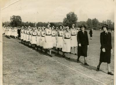 Photograph of an Inspection Parade of Northants/66