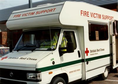 Photographs of the Berkshire Branch Fire Victim Support Vehicle