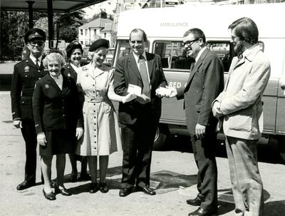 Photographs of the Presentation of a Convertible Minibus