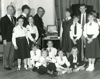 Photograph of Sonning Red Cross Youth and Junior Group