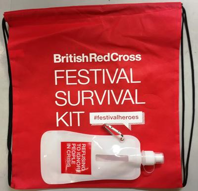 British Red Cross Festival Survival Kit