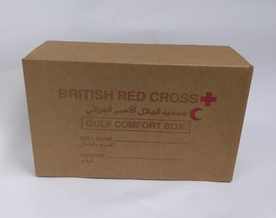 British Red Cross Gulf Comfort box