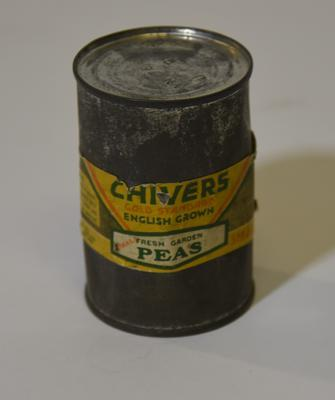 Tin of Chivers Gold Standard English Grown Fresh Garden Peas