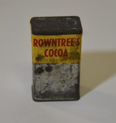 Rowntree's Cocoa tin