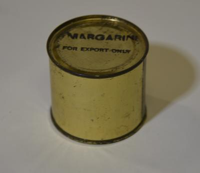 Margarine tin