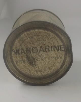 Tin of margarine