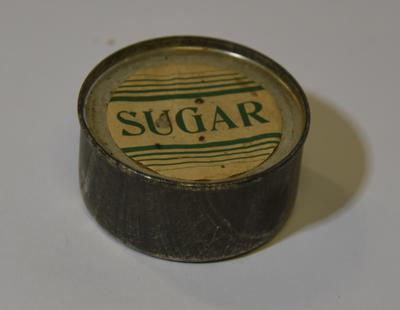 Sugar tin