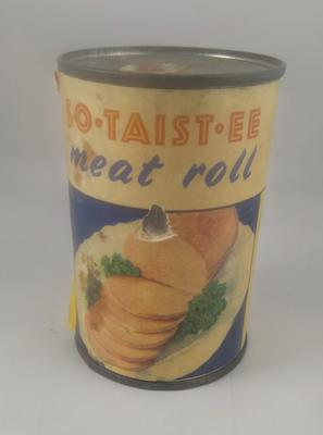 Tin of So-Taist-ee Meat Roll