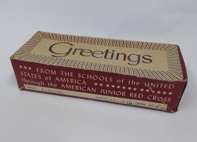 American Junior Red Cross Gift Box 'For Girls'