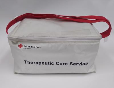 British Red Cross therapeutic care service kit