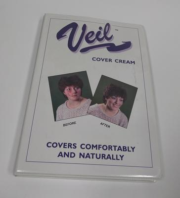 Veil cover cream samples