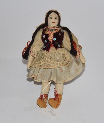 Doll dressed in Polish costume