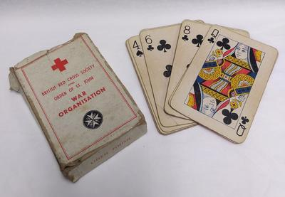 Pack of Joint War Organisation playing cards