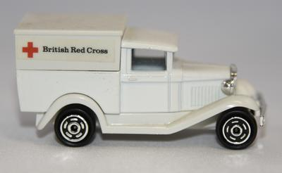 Ford Model A Red Cross ambulance toy