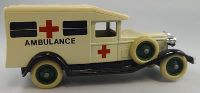 'Days Gone' die cast 1930s ambulance
