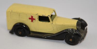 Cream Dinky Toy ambulance
