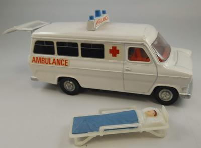 Ford Transit ambulance Dinky Toy model