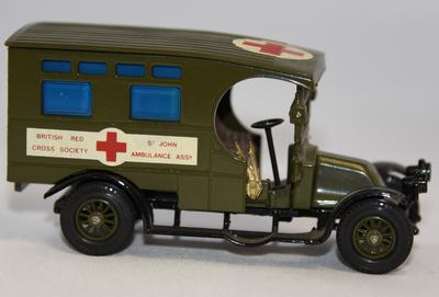 Matchbox model British Red Cross and St John Ambulance