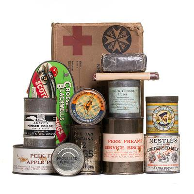 Prisoner of war food parcel