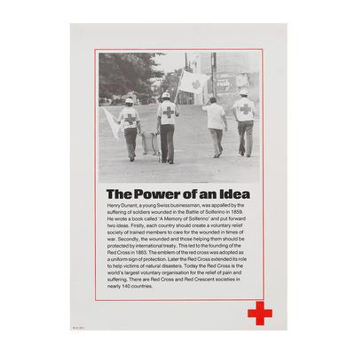 'The Power of an Idea' poster