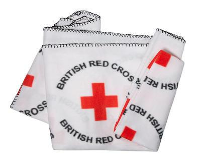 British Red Cross emergency response blanket