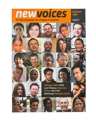 Issue 1 of New Voices newspaper, 2005