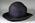 Navy straw hat (narrower brim)