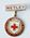 British Red Cross Society badge, hanging from a 'Netley' bar