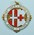Circular medallion: Order of St John British Red Cross Society. Engraved on the reverse: For Services Rendered 5