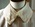 White soft collar, marked 'Sister Marion 14.5'